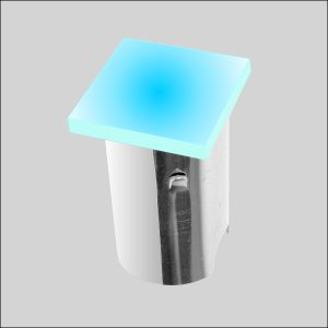 Set 5 incastrabile de exterior LEDIN 103 BL
