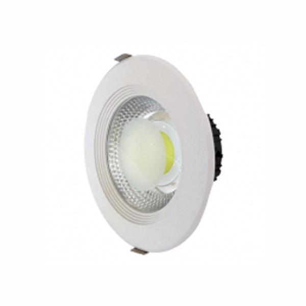Spot LED COB rotund 30W lumina calda