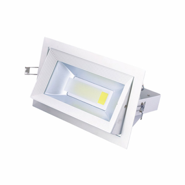 Spot LED COB rectangular 30W lumina naturala