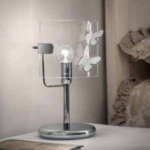 lampa de masa alba