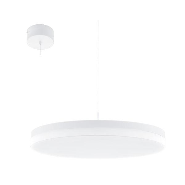 Lustra LED inteligenta alba Sortino S