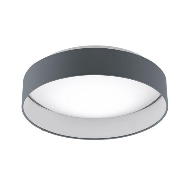 Plafoniera LED inteligenta gri Palomaro S